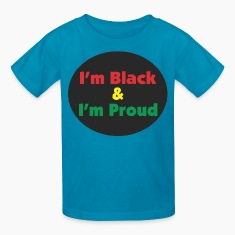Black and Proud Kids' Shirts