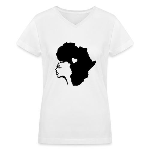 Naturalista - Women's V-Neck T-Shirt