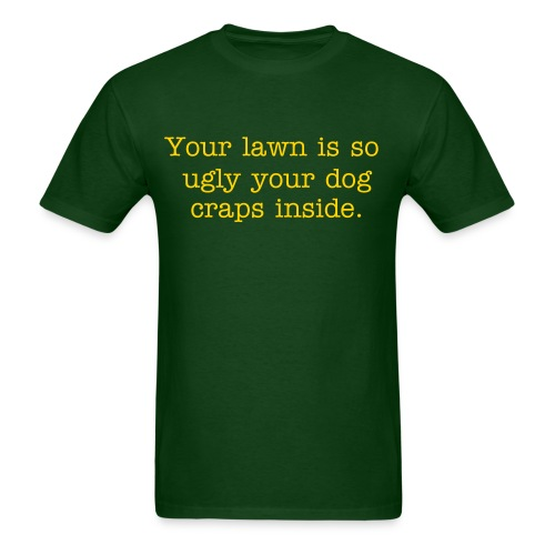 Ugly Lawn - Men's T-Shirt