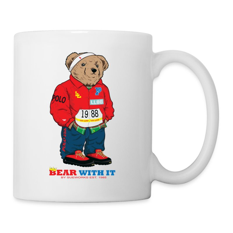 Bear Wit It / coffee mug - Coffee/Tea Mug