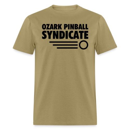 OPS Black Logo - Front only - Men's T-Shirt