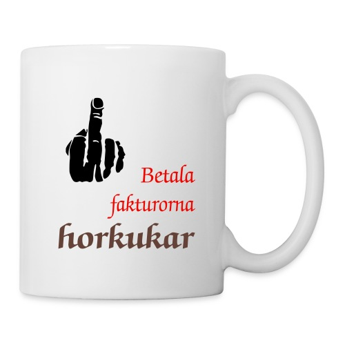 Pay up fittkukar - Coffee/Tea Mug