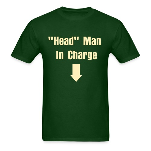 Head Man... - Men's T-Shirt
