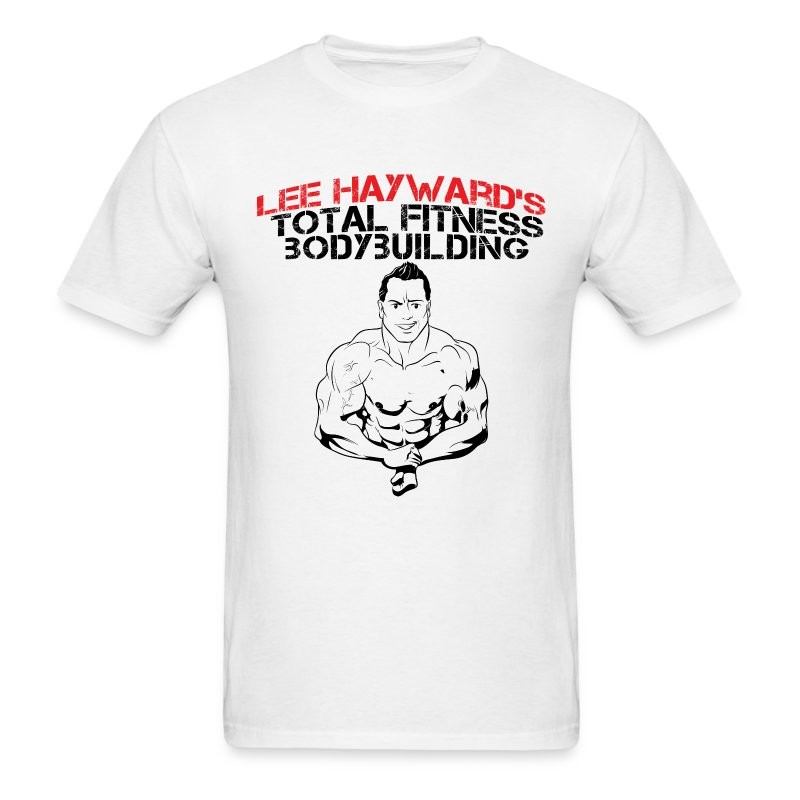 Lee Hayward Cartoon Muscle T-Shirt - Men's T-Shirt