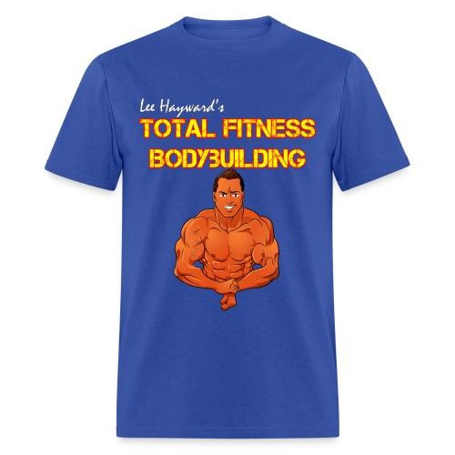 Lee Hayward Cartoon Muscle T-Shirt - Men's T-Shirt