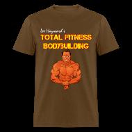 T-Shirts ~ Men's T-Shirt ~ Lee Hayward Cartoon Muscle T-Shirt