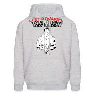 Hoodies ~ Men's Hoodie ~ Lee Hayward Cartoon Muscle Hoodie