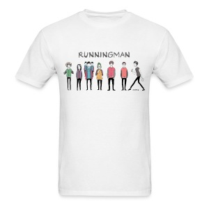 [Running Man!] Running Man Cast (Episode 74 Super Natural) - Men's T-Shirt