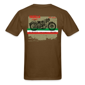 parilla 250cc [back] - Men's T-Shirt