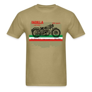 parilla 250cc [front] - Men's T-Shirt