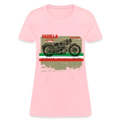 parilla 250cc [front] - Women's T-Shirt