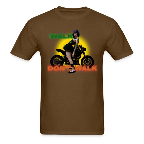 walk .. don't .. walk [front] - Men's T-Shirt