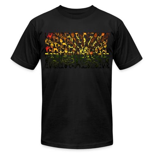 Lowkey Sunset - Men's Fine Jersey T-Shirt