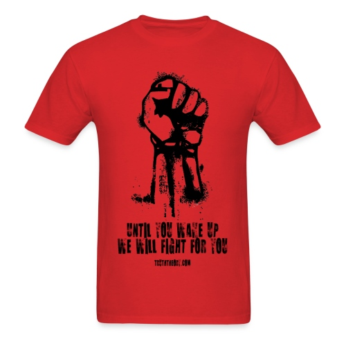 Until You Wake Up - Men's T-Shirt
