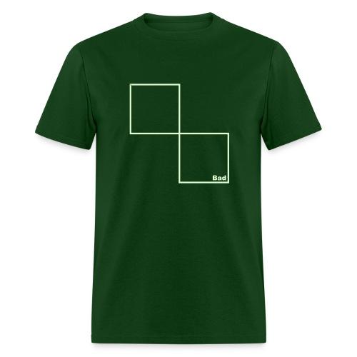 Bad [Glow in the Dark] - Men's T-Shirt