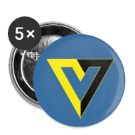 Buttons ~ Large Buttons ~ V for Voluntary Large Button