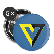 Buttons ~ Small Buttons ~ V for Voluntary Small Button