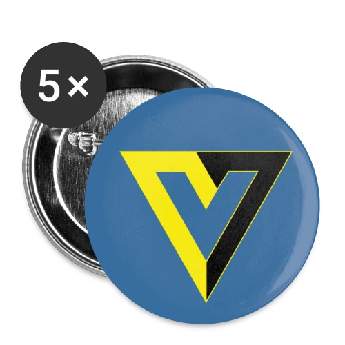 V for Voluntary Small Button - Small Buttons