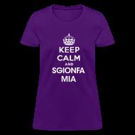 Women's T-Shirts ~ Women's T-Shirt ~ sgionfa mia