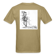 T-Shirts ~ Men's T-Shirt ~ Upright Piano Action t-shirt
