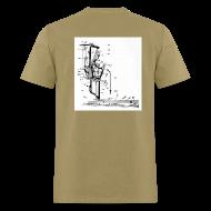 T-Shirts ~ Men's T-Shirt ~ Upright Piano Action t-shirt