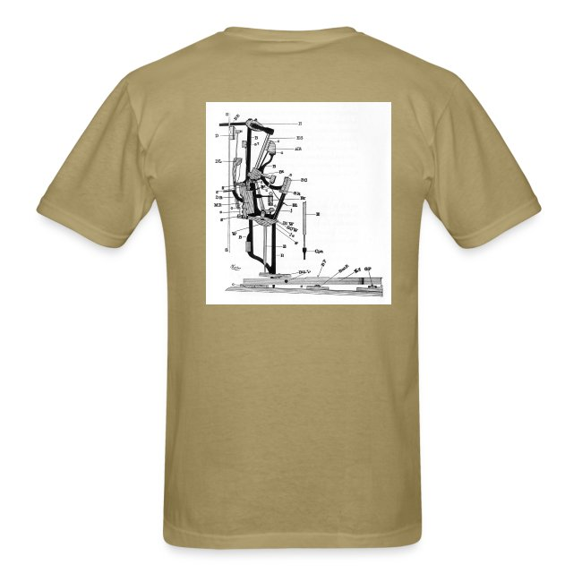 Upright Piano Action t-shirt