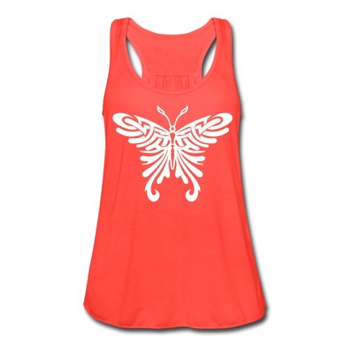 Butterfly Freefall - Women's Flowy Tank Top by Bella