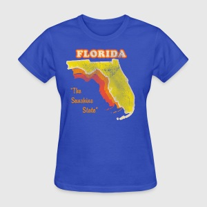 Florida, The Sunshine State retro womens t-shirt - Women's T-Shirt