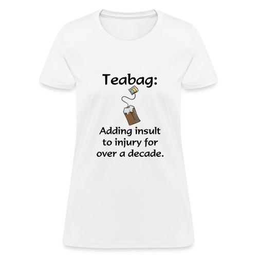 Teabag (womens) - Women's T-Shirt