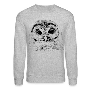 Barred Owl 4653 - Crewneck Sweatshirt