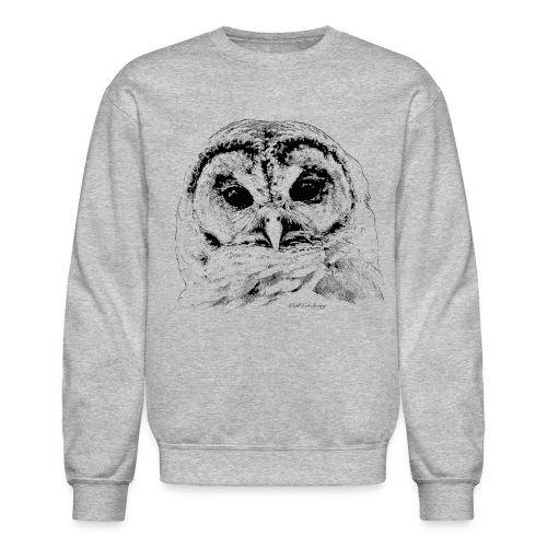Barred Owl 4653 - Crewneck Sweatshirt
