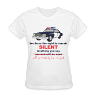 T-Shirts ~ Women's T-Shirt ~ Remain Silent - Women