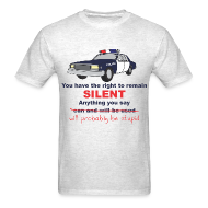 T-Shirts ~ Men's T-Shirt ~ Remain Silent
