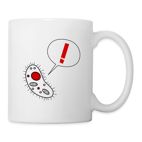 Nothing in Biology microbe mug - Coffee/Tea Mug