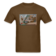T-Shirts ~ Men's T-Shirt ~ Snapshot of Grand Piano Action