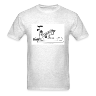 T-Shirts ~ Men's T-Shirt ~ Grand Piano Action Diagram t-shirt