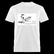 T-Shirts ~ Men's T-Shirt ~ Grand Piano Action Diagram t-shirt