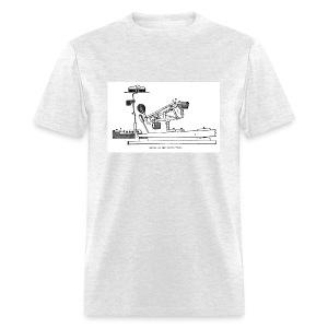 Grand Piano Action Diagram t-shirt - Men's T-Shirt