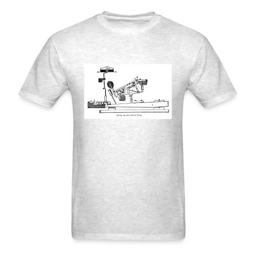 Grand Piano Action Diagram t-shirt - Men's T-Shirt