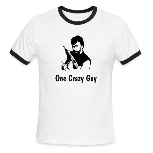 One Crazy Guy - Men's Ringer T-Shirt
