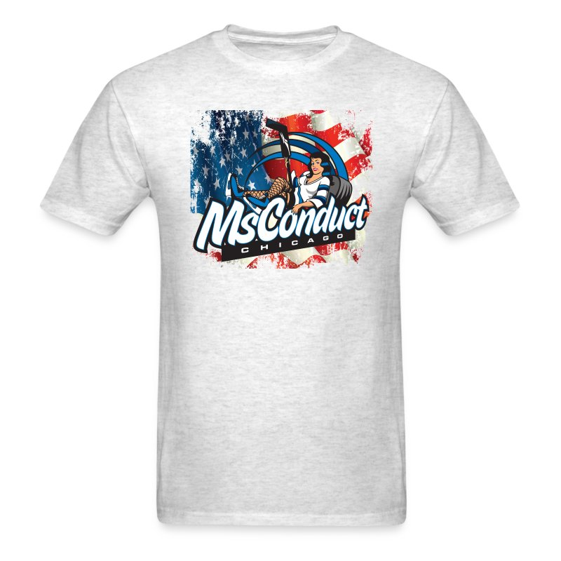 MsConduct & American Pride - Men's T-Shirt