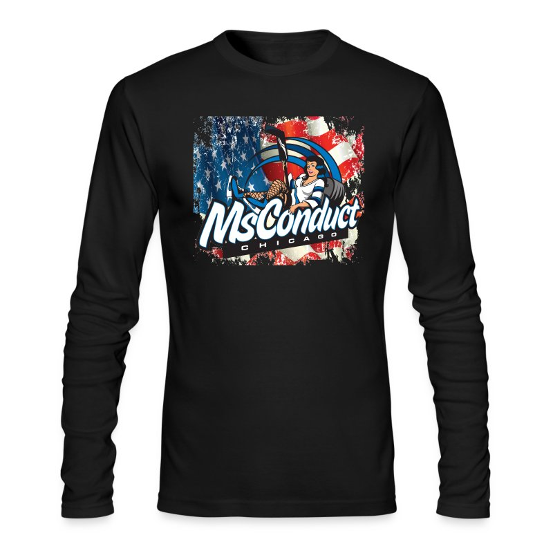 MsConduct & American Pride - Men's Long Sleeve T-Shirt by Next Level
