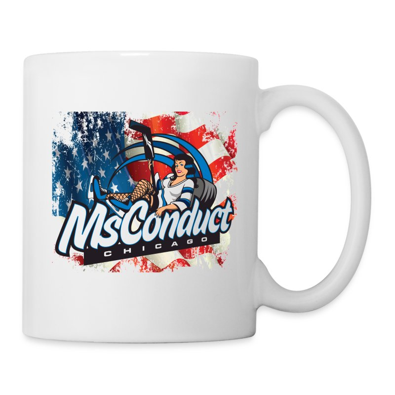 USA Pride w/MsConduct Hockey java cup - Coffee/Tea Mug