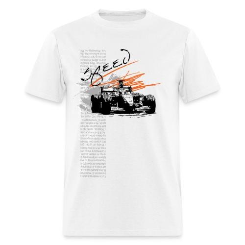 Men's T-Shirt - F1_Racing_Speed