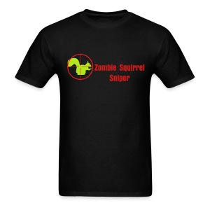 Zombie Squirrel Sniper - Men's T-Shirt