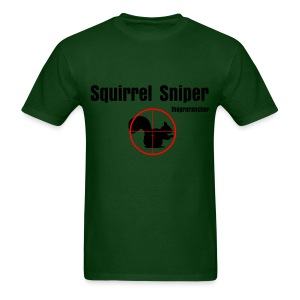 Squirrel Sniper - Men's T-Shirt