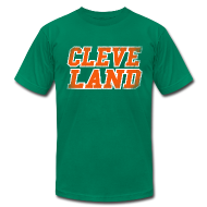 T-Shirts ~ Men's T-Shirt by American Apparel ~ CLEVE LAND