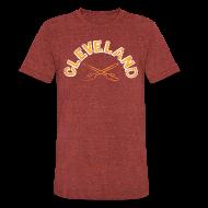 T-Shirts ~ Unisex Tri-Blend T-Shirt by American Apparel ~ CLEVELAND CAV