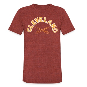CLEVELAND CAV - Unisex Tri-Blend T-Shirt by American Apparel
