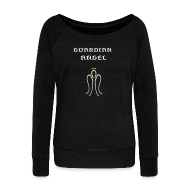 Long Sleeve Shirts ~ Women's Wideneck Sweatshirt ~ Guardian Angel Wideneck SweatShirt